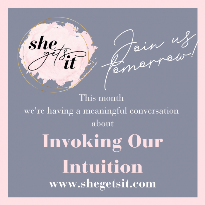 Conversation about invoking our intuition