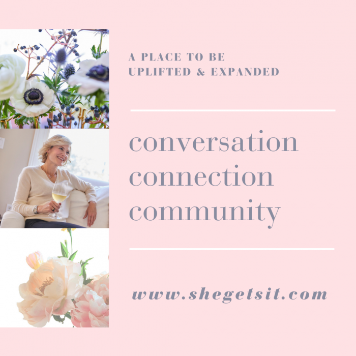 A place for uplifting conversation
