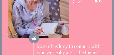 Most of us long to connect with who we really are... the highest and best versions of ourselves.