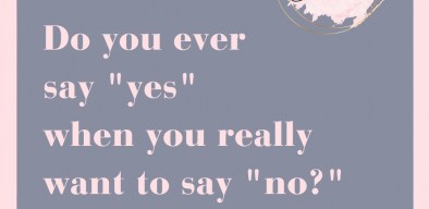 """Do you ever say """"yes"""" when you really want to say """"no?"""""""