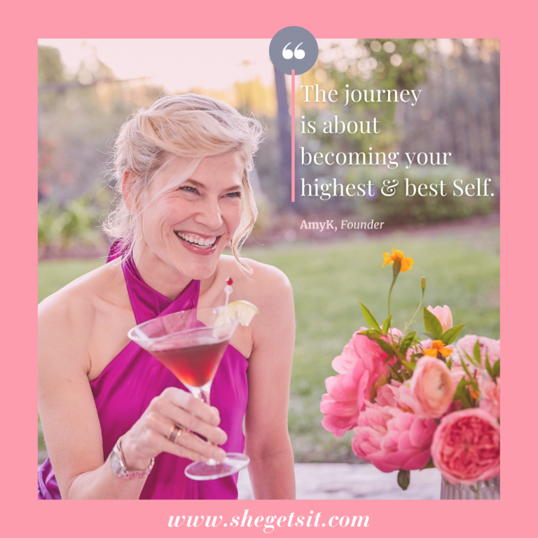 The journey is about becoming your highest and best self.